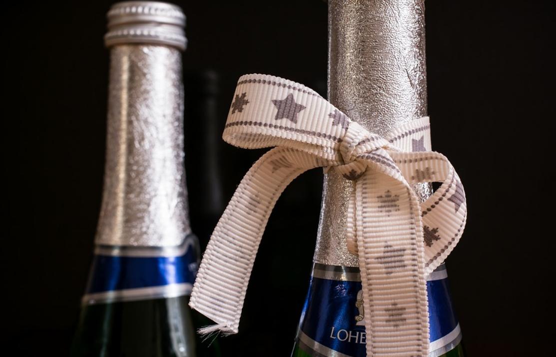 alkohol jako dárek