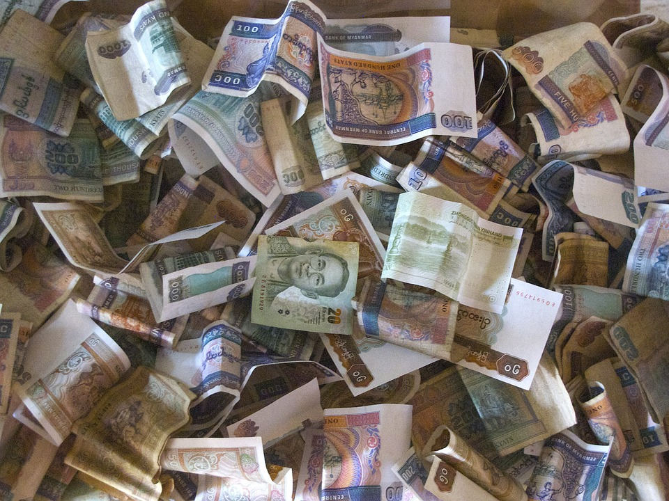 barmské peníze