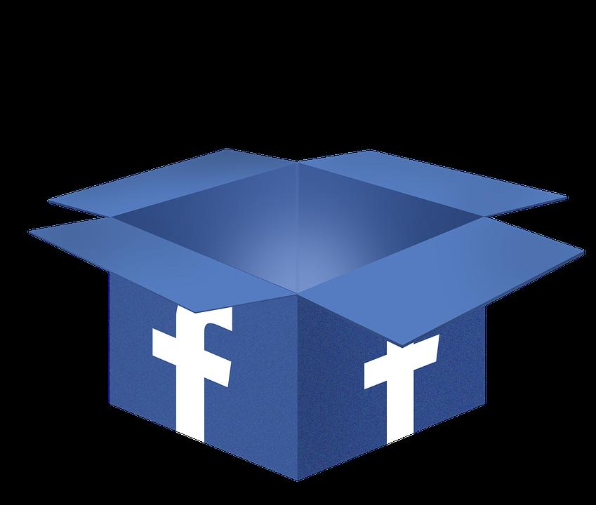 facebook krabice